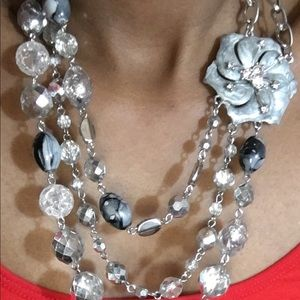 Ny Flowered Necklace